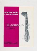 Aircraft Profile Number 29: The Junkers Ju 88A - $5.75