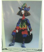 Magic Threads Razzamatazz Witch Doll Pattern by Julie McCullough 1999* - $15.00