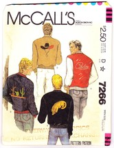 McCall's Mens Jacket 1980 Pattern 7266 Size Medium 38 to 40 - $9.77
