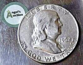 Ben Franklin Half Dollar - 1962  AA20-7101