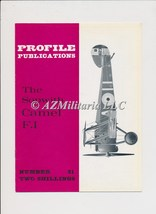 Aircraft Profile Number 31: The Sopwith Camel F.I - $27.75