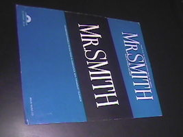 Sheet Music Mr Smith Theme Paramount Television Series 1983 Patrick Will... - $8.99