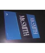 Sheet Music Mr Smith Theme Paramount Television Series 1983 Patrick Will... - $8.99