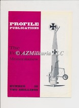Aircraft Profile Number 38: The Fokker Monoplanes - $7.75