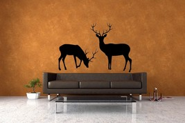 Deer (Set of 2)- Vinyl Wall Art Decal - $38.00