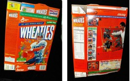 Wheaties Cereal Box Flat Empty NFl Roger Staubach by Leroy Newmen 1997 - $16.99