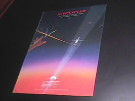 Sheet Music My Kind Of Lady Supertramp 1982 8 Pages Rick Davies Roger Ho... - $8.99