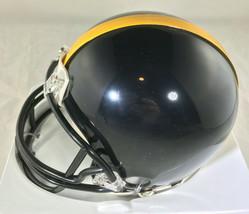 "JEROME BETTIS / NFL HALL OF FAME / AUTOGRAPHED STEELERS MINI HELMET / ""BUS"" HOLO image 3"
