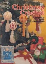 American School of Needlework Christmas Crochet Pattern Leaflet #12, 1979 - $4.00