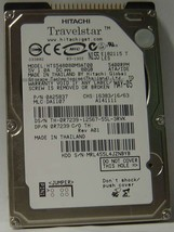 "Hitachi HTS548080M9AT00 80GB 2.5"" IDE Drive Tested Free USA Ship Our Drives Work"