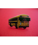 Blue Bird Yellow School Bus Souvenir Lapel Hat Pin - $4.95
