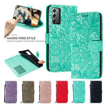 Fr Samsung S21+ S20+ FE Note 20 Ultra Play Leather Wallet Magnetic flip cover - $46.24