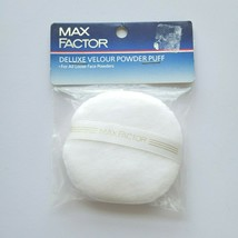 Max Factor Deluxe Velour Powder Puff  for all Loose Powders Sealed NOS - $27.87