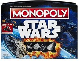Monopoly Game Star Wars Edition Board Game Family Fun Hasbro 2016 - $39.99
