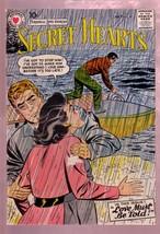 Secret Hearts #40 1957- Personal Love STORIES-SPEEDBOAT Vg - $37.83