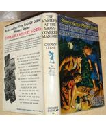 Nancy Drew 18 The Mystery at the Moss-Covered Mansion 1960B-48 hcdj - $29.95