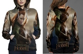 The Hobbit Evangeline Lilly as Tauriel  Hoodie Fullprint Women - $43.99+