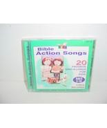 Bible Action Songs by Wonder Kids Choir Music CD - $5.84