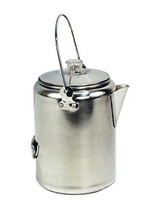 Texsport Aluminum 9 Cup Percolator Coffee Maker for Outdoor Camping - $19.64