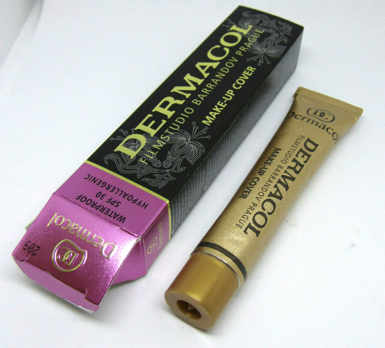 Primary image for DERMACOL Waterproof Make-Up Cover Spf30  No.209 1.0oz/30g NIB