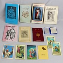 Catholic Religious Bundle Booklets Novenas Cards and Agnus Dei Wax Sacra... - $49.99