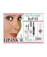 LIP INK Lip Plumper Buff Kit natural fullness Organic Vegan Kosher Water... - $54.45