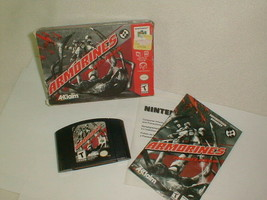 Armorines: Project S.W.A.R.M. (Nintendo 64, 1999) Complete In Box Authentic - $25.00