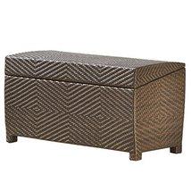 Deck Storage Box Waterproof Patio Furniture Storage Ottoman Bin Poolside... - $372.35