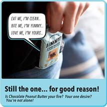 Jimmy! Chocolate Peanut Butter Protein Bars, 18g Protein, Low Sugar, 24 Count image 3