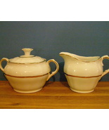 Alfred Meakin creamer and sugar bowl vintage - $7.99