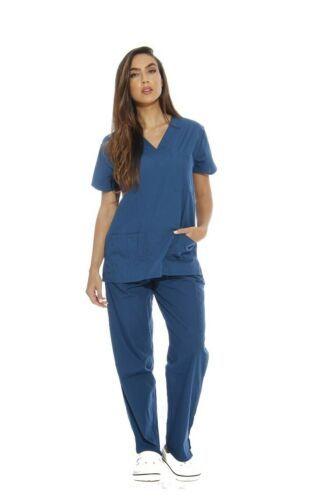 Just Love Women's Scrub Set Six Pocket Medical Scrubs V-Neck with Cargo Pant XL