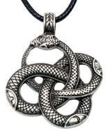 Paw Paw House Dragon Necklace Norse Viking Snake Ouroboros Talisman Pag... - $35.41