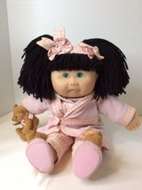 "Cabbage Patch Kids Toys R Us 2001 K-5 1st Edition 20"" Dark Hair Pajamas ... - $130.54"