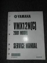 2001 Yamaha Moto VMX12N VMX12NC Servizio Riparazione Manuale OEM Fabbrica - $69.54