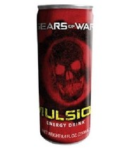 Gears of War Game Imulsion Energy Drink Six 8.4 Oz Cans, NEW SEALED - $15.47