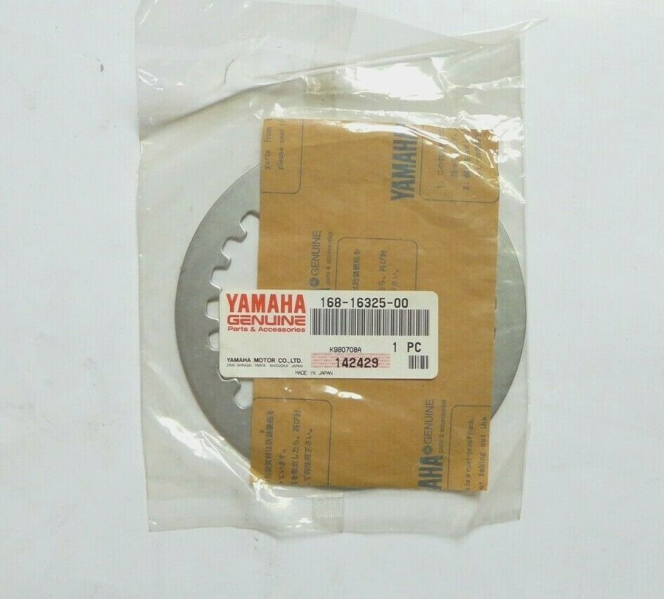 Yamaha 168-16325-00 Clutch Plate Pack of 5 New