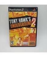 Tony Hawk's Underground 2 (Sony PlayStation 2, 2004) PS2 TESTED - $14.85