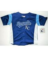 MLB Genuine Merchandise Toddler Boys Kansas City Royals Shirt Size 3T NWT - $18.00