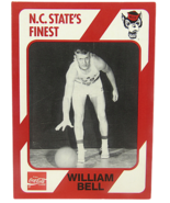 1989 Collegiate Collection #19 North Carolina State's Finest William Bell   - $5.93