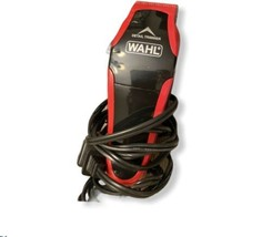 Wahl Clip And Trim Hair Clipper Red With Case - $22.10