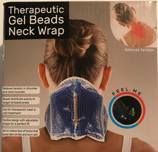 Therapeutic Gel Beads Neck Wrap Hot or Cold Relieves Pain & Stress - $14.69