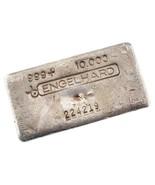 Engelhard 10 Oz. Silber Barren Canadian Variation 3. Serie Schönes Stück! - $455.64 CAD