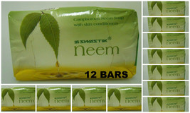 12 BARS!! of Swastik Neem Soap 70gm w/ Eucalyptus Oil USA SELLER FAST SH... - $28.00