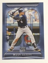 2011 Topps 60 #T60-38 Ryan Braun Milwaukee Brewers Baseball Card NRMT - $0.99