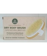 BAR5f Dry Body Brush 100% Natural Bristles for wet or dry body brushing ... - $14.85