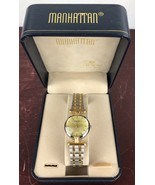 Manhattan Quartz Watch By Croton With Case - $46.75