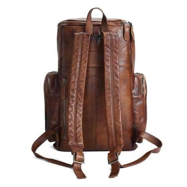 Sale, Vintage Handmade Leather Backpack, Men's Leather Backpack, Travel Backpack