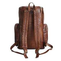 Sale, Vintage Handmade Leather Backpack, Men's Leather Backpack, Travel Backpack image 1