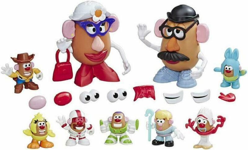 Mr Potato Head Disney/Pixar Toy Story 4 Andy'S Playroom Potato Pack Toy For Kids