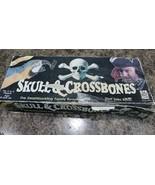 Paul Lamond Games 1992 Skull And Crossbones Board Game Vintage COMPLETE  - $37.12